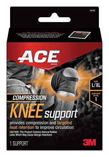 ACE Compression Knee Support, Large/Extra (Ace Bandage Knee Brace)