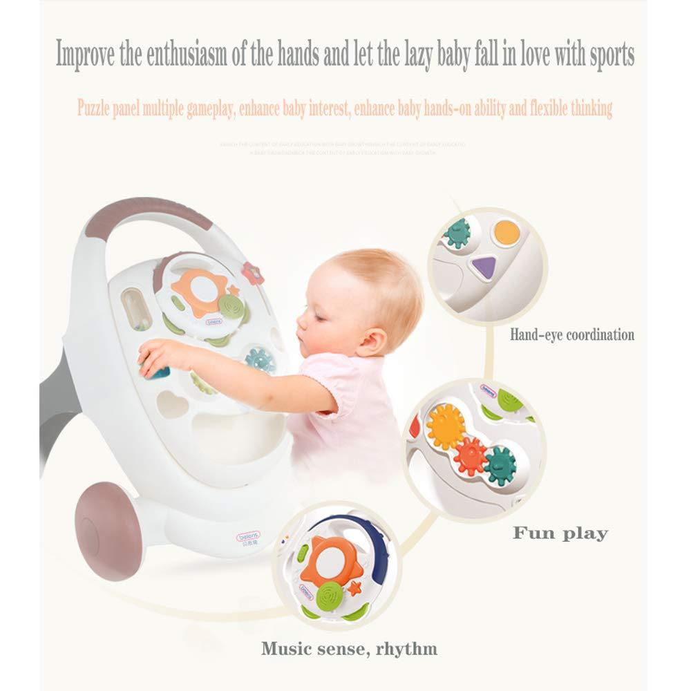 HHORD Caminante Musical 7-18 Meses Cochecito de bebé Caminante ...