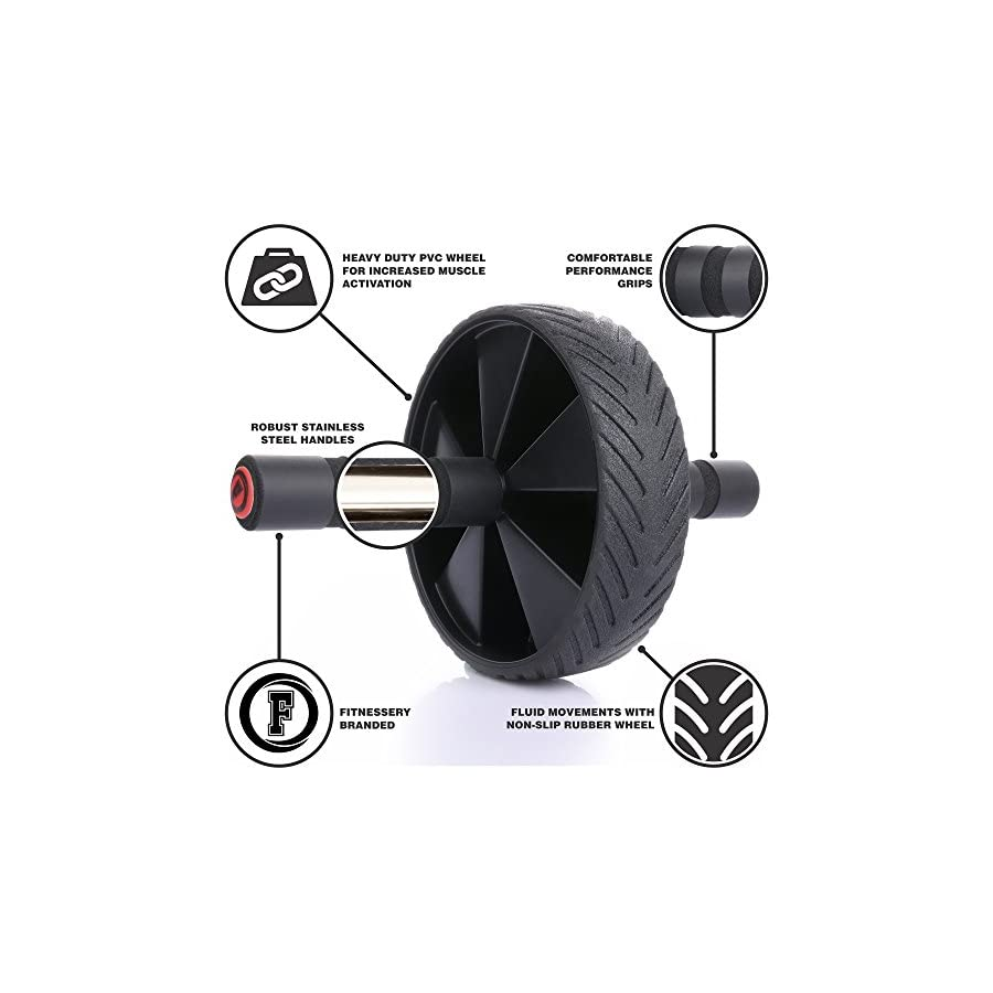 Ab Machine Exercise Equipment Ab Wheel Roller for Core Workout Ab Trainer Fitness Equipment Ab Workout Equipment for Home Gym Ab Exercise Equipment for Abs Workout Abs Machine Workout