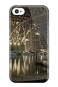 Pretty DvPejop6322HLWxh Iphone 4/4s Case Cover/ Granville Bridge Series High Quality Case