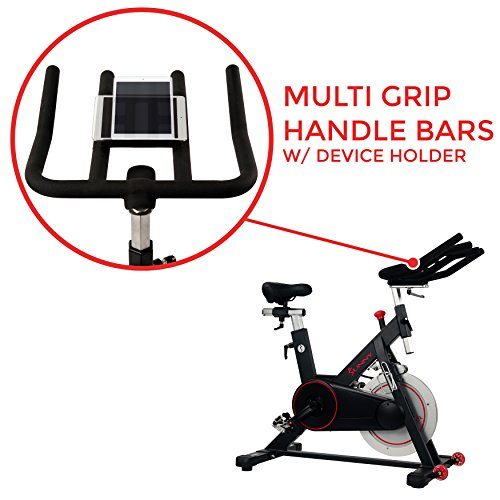 d88f1cfc9e5 Sunny Health   Fitness Magnetic Belt Drive Indoor Cycling Bike with High  Weight Capacity and Tablet Holder - SF-B1805 - KAUF.COM is exciting!