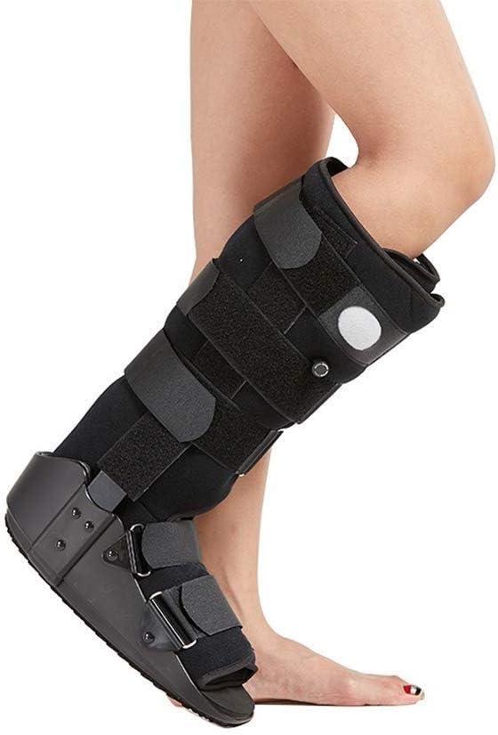 QLT BETY Articulación del Tobillo Brace Walker Fractura del pie Soporte Fijo Protección Lesiones Esguince para el Tratamiento de la Fascitis Plantar