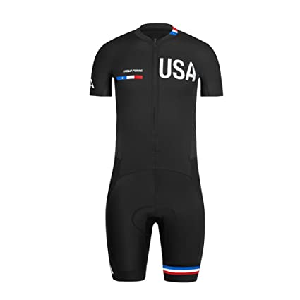 0321bf9fe Uglyfrog  06 2018 Men Skinuit Short Sleeve Cycling Shirts with Short Legs  Set Breathable and