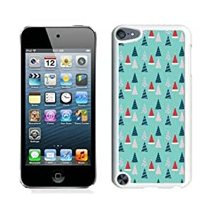 ayuw diy 2014 Newest Christmas tree White iPod Touch 5 Case 14