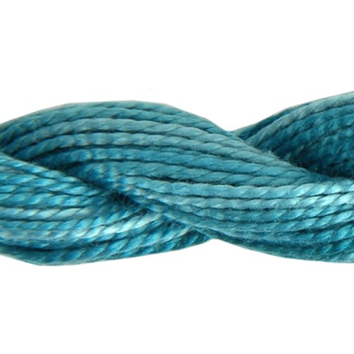 DMC 415 5-4025 Color Variations Pearl Cotton Thread, Size 5, 27-Yard, Caribbean Bay