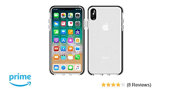 premium selection 6a783 92436 iPhone Xs Max Case,WATACHE Slim Fit Crystal Clear Soft Durable Flexible TPU  Rubber Skin Silicone Anti-Slip Protective Case Cover for Apple iPhone Xs ...