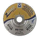 Mercer Industries 622080 Zspeed Zirconia Grinding Wheel, 5'' x 1/4'' x 7/8''
