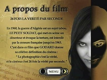 Le petit soldat [Francia] [DVD]: Amazon.es: Michel Subor, Anna Karina, Jean-Luc Godard: Cine y Series TV