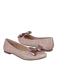 TROPICANA Flats para Mujer Glitter Picke Cuarzo 97110