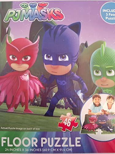 PJ Mask Floor Puzzle Large 3 Feet
