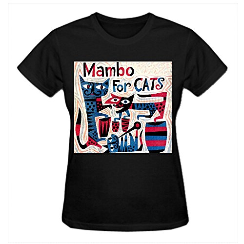 timico-personalized-mambo-for-cats-women-t-shirts-black