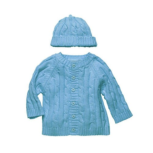 elegant-baby-6-months-blueberry-sweater-hat