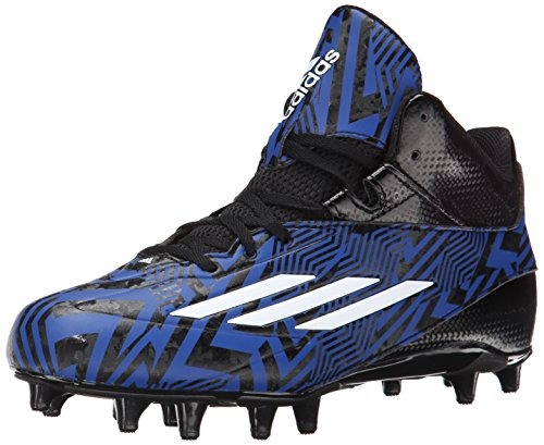 adidas Performance Men's Filthyspeed Mid Football Cleat, Black/White, 11.5 M US