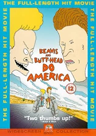 Beavis and butthead dvd
