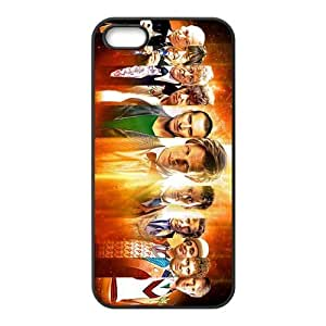 Mystic Zone Doctor Who Tardis Door Cover Case for iPhone 4/4S TPU Back Cover Fits Case KEK2100