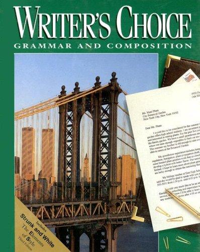 Glencoe Writer's Choice, Grade 11