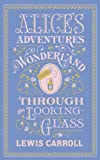 """Alice's Adventures in Wonderland and Through the Looking Glass (Barnes & Noble Leatherbound)"" av Lewis Carroll"