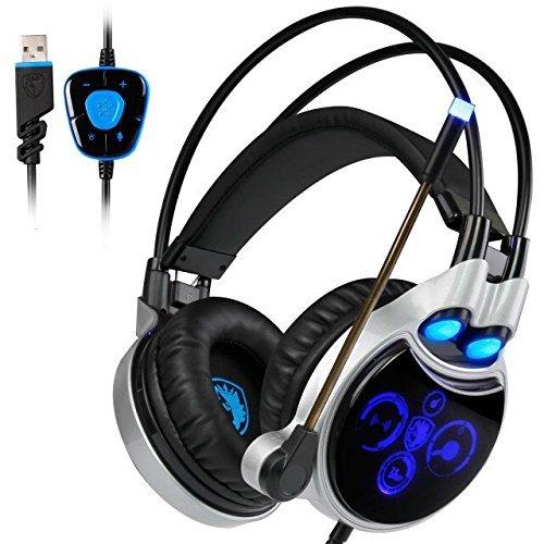 Headset Surround Over Ear Headphone Microphone