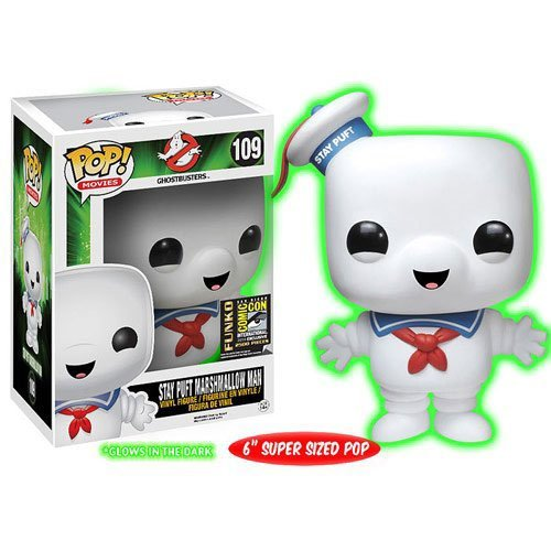 Stay Puft Marshmallow Man POP! Movies #109 SDCC Exclusive Vinyl Figure by Ghostbusters by Ghostbusters