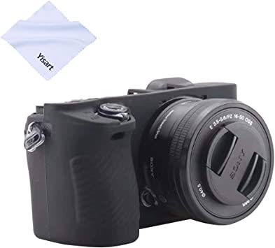 A6300 Cover Housing Case silicone black for Sony Alpha A6000