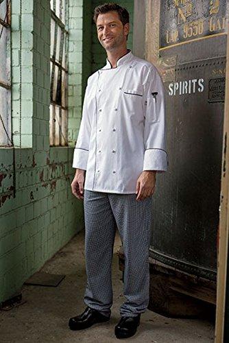 1/2' Wide 1 Pants Belt (Uncommon Threads Unisex  Executive Chef Pant, Houndstooth, Medium)