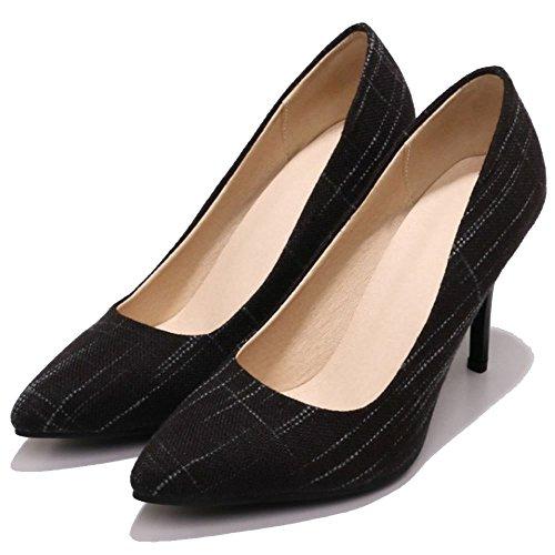 2 a Chaussures Zanpa Enfiler Basic black Femmes Ra8qP8