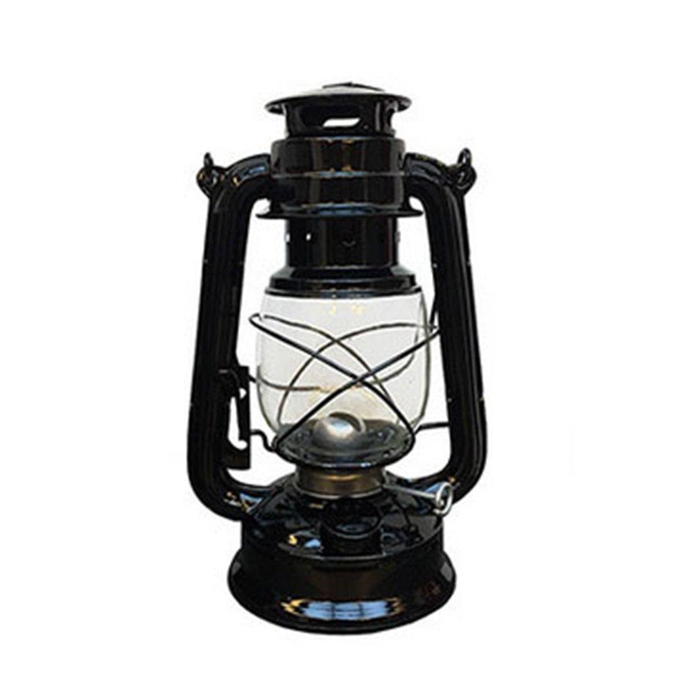 Rouge GOZAR Vintage R/étro K/éros/ène Lampe Portable Camping en Plein Air Lumi/ères M/étal Camping Lumi/ère Verre Lanterne Creative D/écoration De La Maison Cadeau Cadeau Cr/éatif