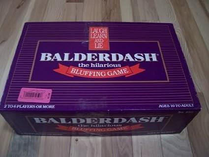 VINTAGE ORIGINAL BALDERDASH Hilarious Bluffing Game 1984 COMPLETE /& EXCELLENT!