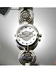 Harley-Davidson Ladies Charm Bracelet Watch by Bulova