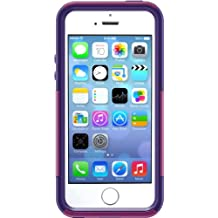 OtterBox COMMUTER SERIES Case for iPhone 5/5s/SE - Retail Packaging - BOOM (POP PINK/VIOLET PURPLE) (Discontinued by Manufacturer)