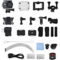 2inch 4K HD Wifi Action Camera 170 Degree Waterproof Outdoor Diving Sports Camcorder