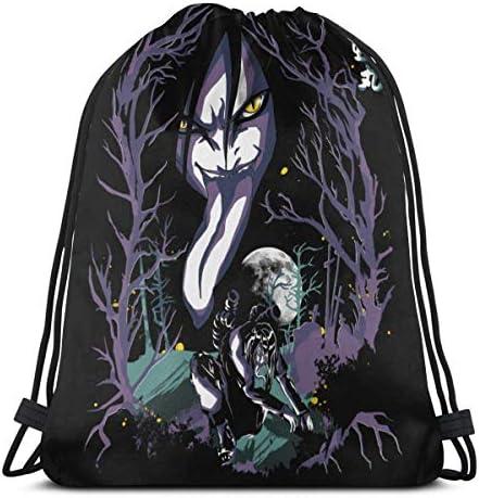 Kordelzug Sport Gym Sack Mitbringsel Taschen Geschenkverpackung Kordelzug Rucksack Aufbewahrung Goodie Bags Cinch Bags - Anime Naruto Orochimaru