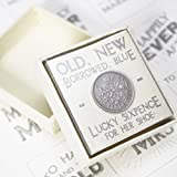 East Of India Lucky Sixpence Gift Favour Token By