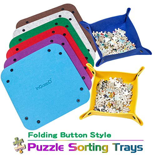 Ingooood Jigsaw Puzzle Accessory Puzzle Piece Sorter for sale  Delivered anywhere in USA