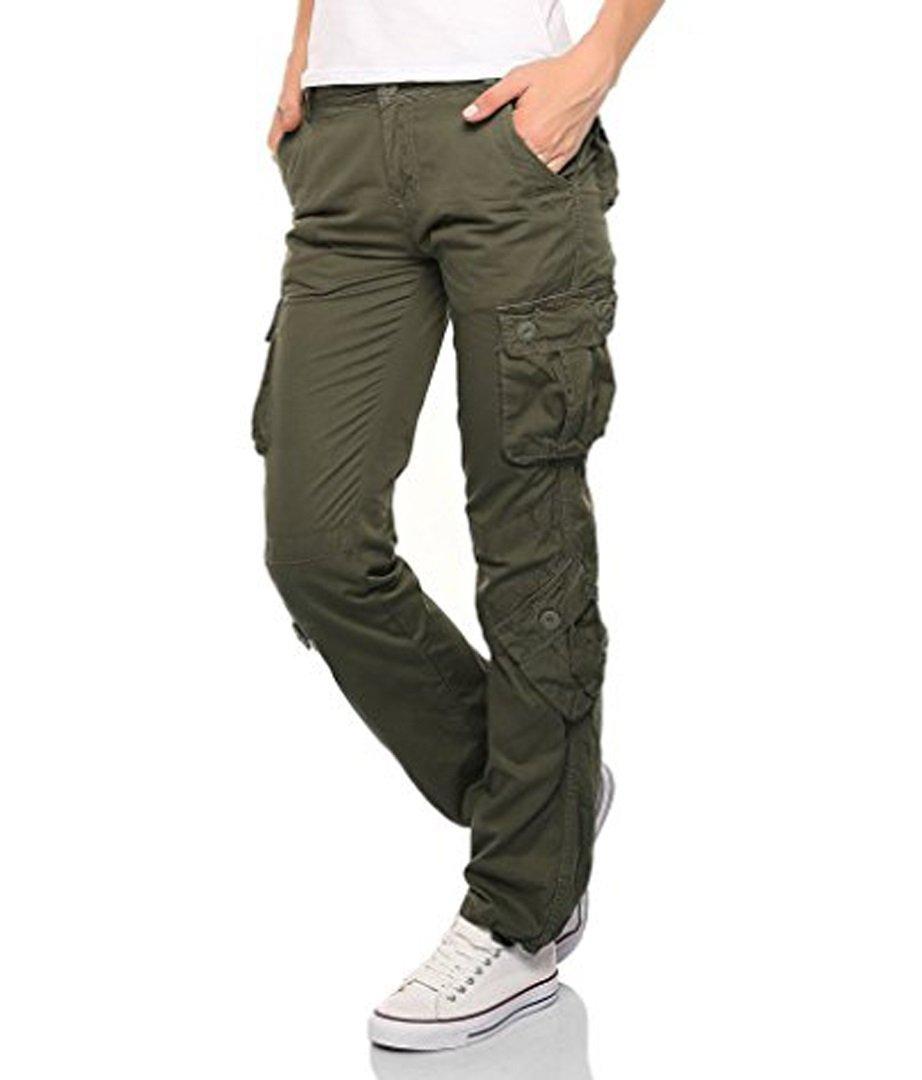 Private Label Ladies Cargo Combat Trouser