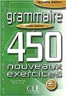 450 exercices, niveau avancé, nouvelle édition par Sirejols