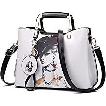 Purses and Handbags for Women Top Handle Satchel Shoulder Bags Ladies Leather Totes From Nevenka