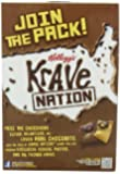 Kellogg's Krave Double Chocolate Cereal, 11-Ounce (Pack of 4)