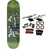 Foundation Skateboard Complete RACE FOR FUN (assorted colors) 8.125''