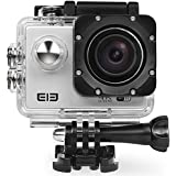 Original Elephone ELE CAM Explorer 4K Ultra HD Sports DV WiFi IP68 Waterproof Action Camera - Silver