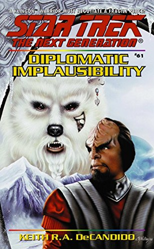 Amazon Diplomatic Implausibility Star Trek The Next