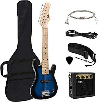 """30"""" Kids Electric Guitar with Amp & Much More Guitar Combo Accessory Kit"""
