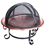 Landmann 28472 Scroll Series 30-Inch Copper Fire Pit with Spark Guard Review