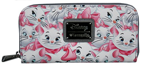 loungefly-disney-aristocats-marie-cat-kitten-pink-grey-vegan-zip-around-wallet