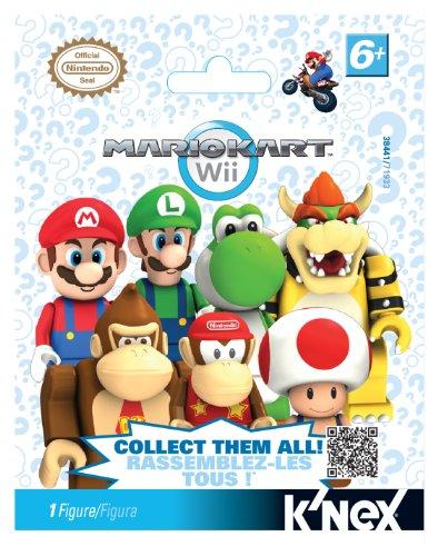 K'NEX Nintendo Mario Kart Wii Mystery Bags (Mario Kart Figurines)