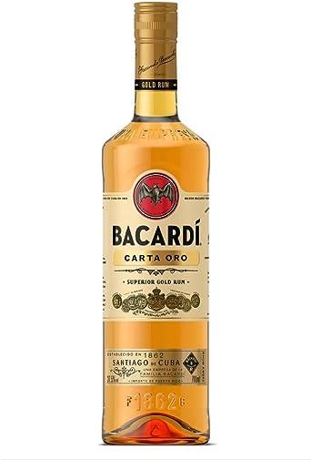 Ron Oro Bacardi 70cl: Amazon.es: Alimentación y bebidas