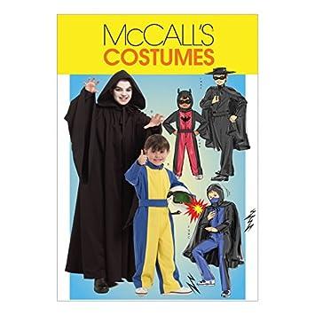 McCalls Schnittmuster 5952 Jungen Kostüme Größen: 7 – 8-10 – 12 – 14 ...