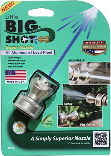 Hose Nozzle: Little Big Shot Super Nozzle – Aluminum