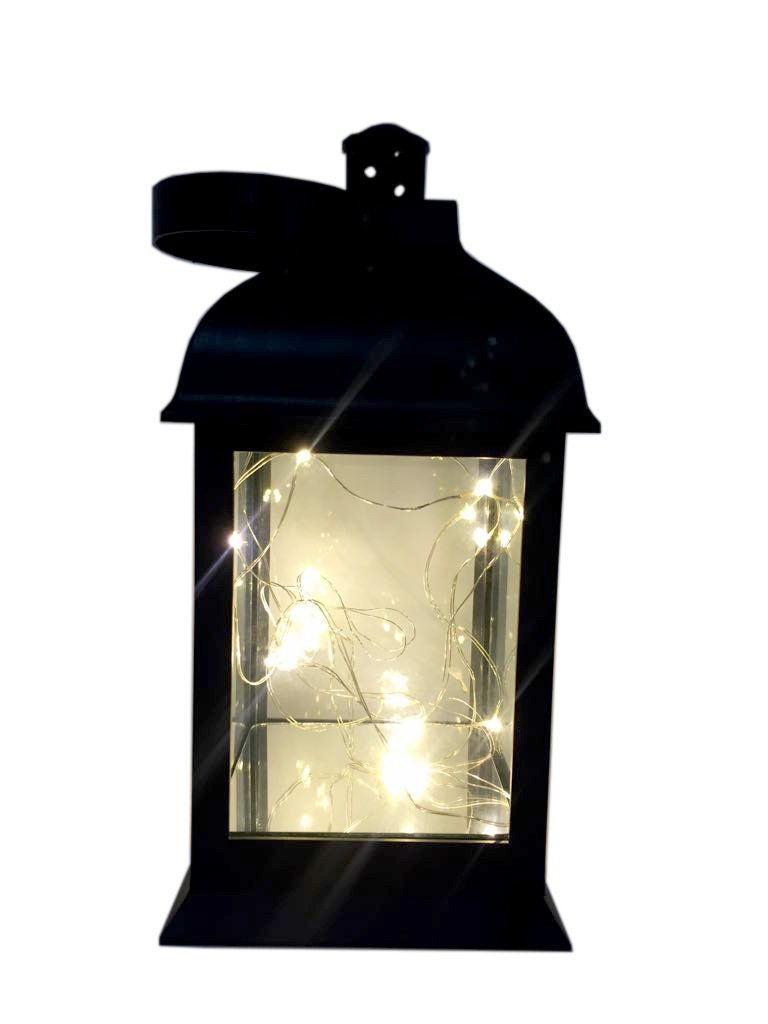 Thai decor LED Solar Lantern Lights Hanging Lamp Outdoor Solar Light Candle Bulb Pathway Mental Waterproof for Patio Courtyard Garden 3 Battery