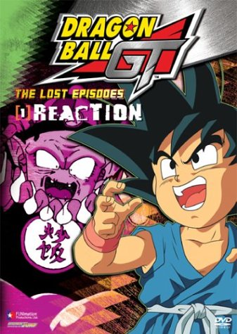 Dragon Ball GT - The Lost Episodes - Reaction (Vol. - In Nh Outlet